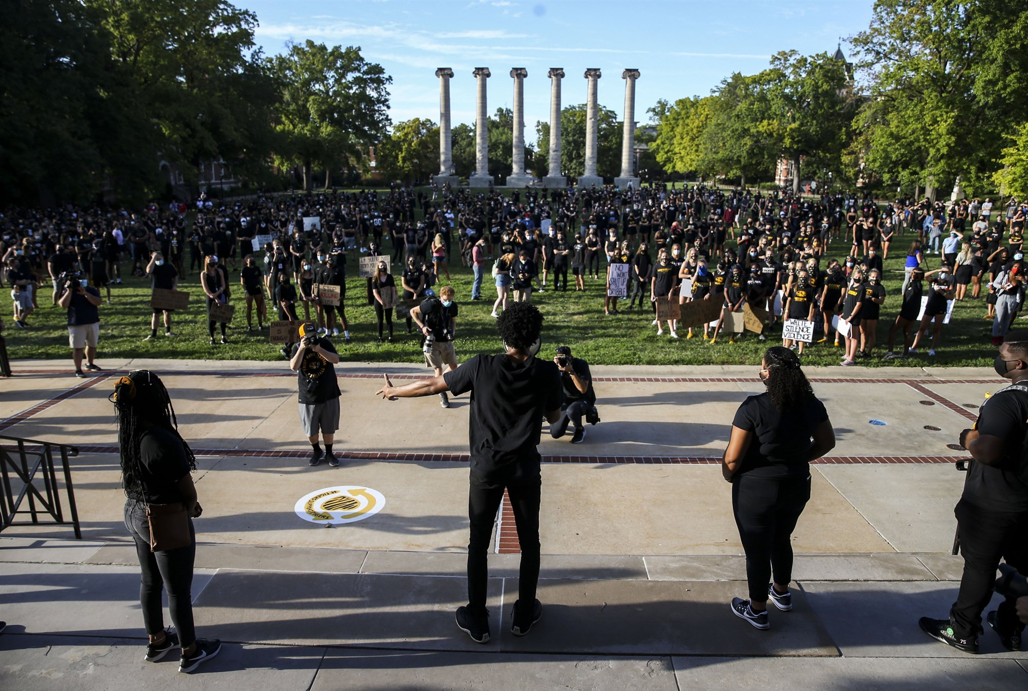 University of Missouri president unblocks students on Twitter after backlash and lawsuit threat